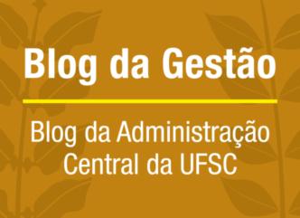 Blog da Administração Central da UFSC